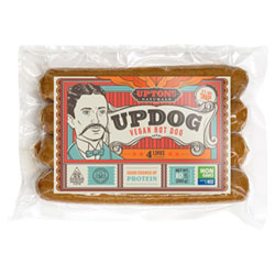 Updog Vegan Hot Dogs by Upton's Naturals THUMBNAIL