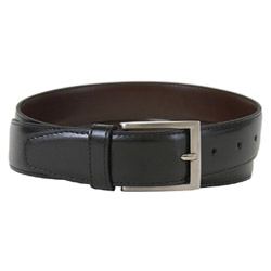 "Captain Belt by The Vegan Collection - Black, 30"" THUMBNAIL"