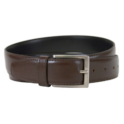 "Captain Belt by The Vegan Collection - Brown, 40"" THUMBNAIL"