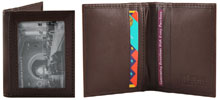 Charlie Bi-Fold Wallet by The Vegan Collection - Brown
