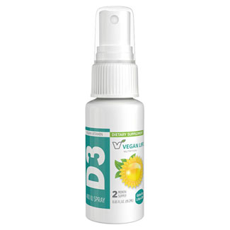Vegan Life Nutrition Vitamin D3 Spray- 400 IU MAIN