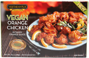 Orange Chicken by Vegetarian Plus LARGE