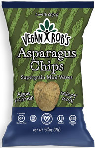 Vegan Rob's Asparagus Chips