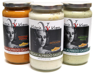 Vegan Alfredo Sauces by Victoria Vegan