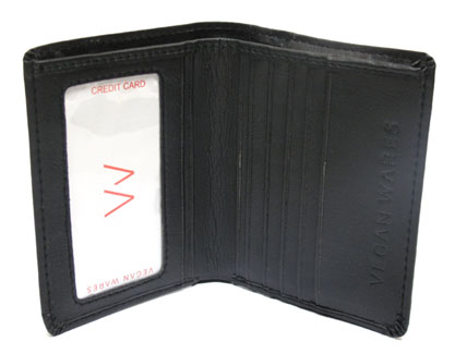Minimalist Wallet by VeganWares - Black