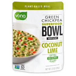 Vana Green Chickpea Superfood Bowls - Coconut Lime THUMBNAIL