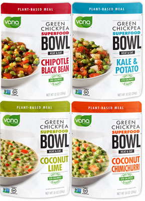 Vana Green Chickpea Superfood Bowls