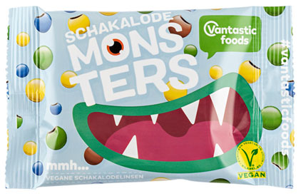 Vantastic Monsters Chocolate Beans Candies
