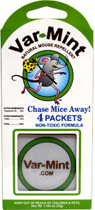 Var-Mint Natural Mouse Repellent Packets