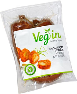 VegIn Vegan Chorizo Sausages