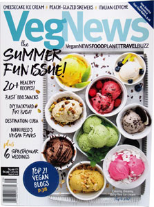 Veg News Magazine - August 2016
