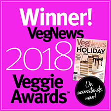 Winner VegNews Veggie Awards - 2005-2018