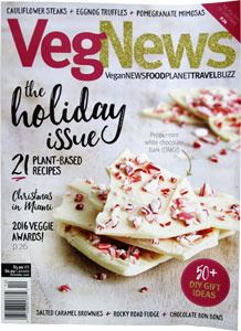 VegNews Magazine - December 2016