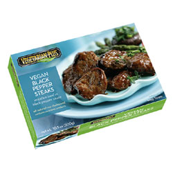 Black Pepper Steaks by Vegetarian Plus THUMBNAIL