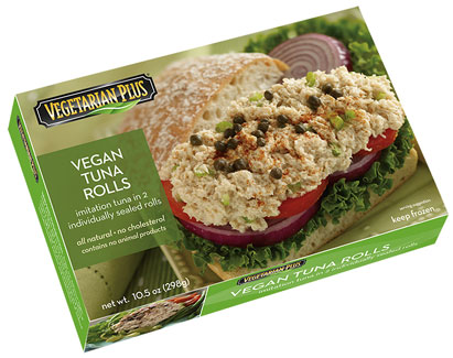 Vegan Tuna Roll by Vegetarian Plus LARGE