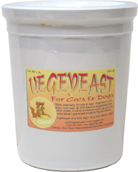 VegeYeast Supplement for Cats and Dogs by Compassion Circle