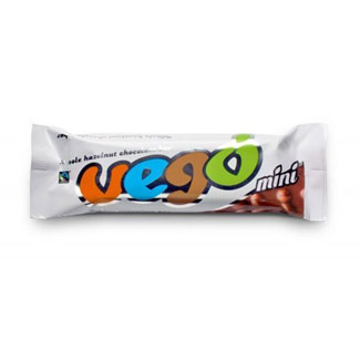 Vego Whole Hazelnut Chocolate Bar - Mini Bar size MAIN