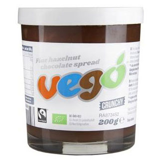 Vego Crunchy Hazelnut Chocolate Spread LARGE