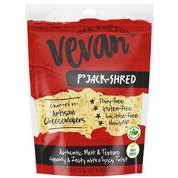 Vevan Plant-Based Cheese Shreds - P'Jack-Shred THUMBNAIL
