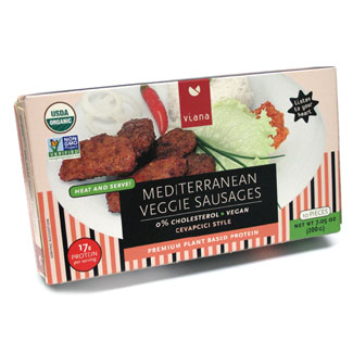 Organic Mediterranean Sausages (Cevapcici Style) by Viana MAIN