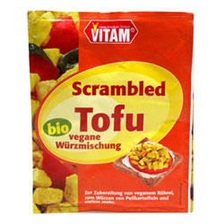 Organic Scrambled Tofu Seasoning Mix Single-Serve Packets by Vitam THUMBNAIL