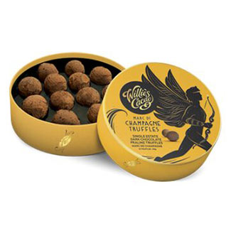 Champagne Truffles by Willie's Cacao - 12 piece box MAIN