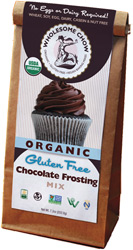 Organic Gluten-Free Chocolate Frosting Mix by Wholesome Chow