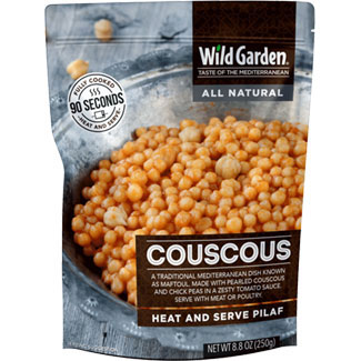 Couscous Heat and Serve Pilaf by Wild Garden LARGE