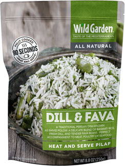 Dill & Fava Heat and Serve Pilaf by Wild Garden_LARGE