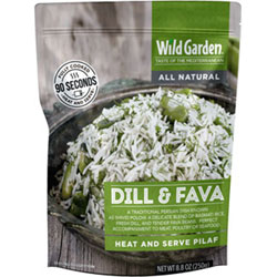 Dill & Fava Heat and Serve Pilaf by Wild Garden THUMBNAIL