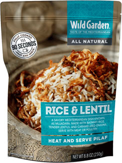 Rice & Lentil Heat and Serve Pilaf by Wild Garden_LARGE