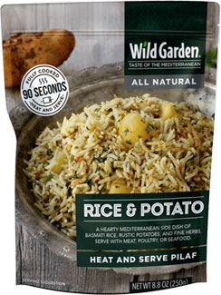 Rice & Potato Heat and Serve Pilaf by Wild Garden LARGE