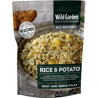 Rice & Potato Heat and Serve Pilaf by Wild Garden MAIN
