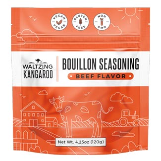 Waltzing Kangaroo Beef Flavor Bouillon Seasoning MAIN