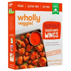Wholly Veggie! Buffalo Cauliflower Wings THUMBNAIL