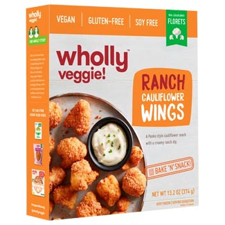 Wholly Veggie! Ranch Cauliflower Wings MAIN