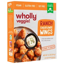 Wholly Veggie! Ranch Cauliflower Wings THUMBNAIL