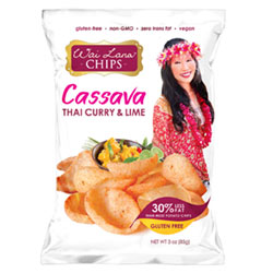 Wai Lana Thai Curry & Lime Cassava Chips THUMBNAIL