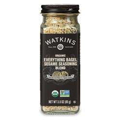 Watkins Organic Everything Bagel Sesame Seasoning Blend THUMBNAIL