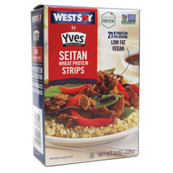 Seitan Wheat Protein Strips by Westsoy THUMBNAIL