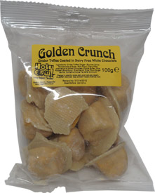 "White Chocolate Golden Crunch (Chocolate Covered Vegan ""Fairy Food"" aka ""Sponge Candy"")"