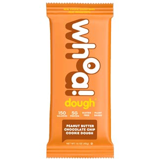 Whoa! Dough Cookie Dough Bar - Peanut Butter Chocolate Chip MAIN