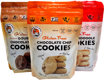 Gluten-Free Vegan Cookies by Wholesome Chow