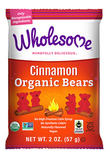 Organic Cinnamon Bears Gummy Candies by Wholesome_LARGE