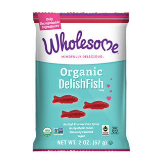 Organic DelishFish Candy by Wholesome - 2 oz. bag LARGE