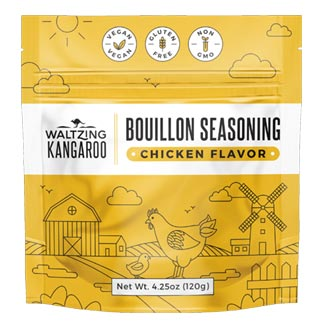 Waltzing Kangaroo Chicken Flavor Bouillon Seasoning MAIN