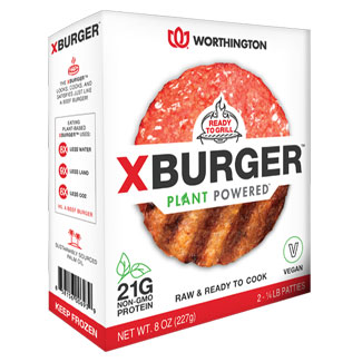 Worthington Plant Powered X Burger MAIN