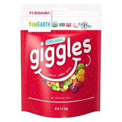 Giggles Organic Chewy Candy Bites by Yum Earth - 5 oz. bag THUMBNAIL