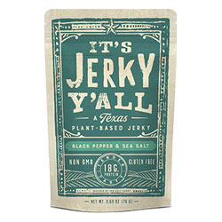It's Jerky Y'all Vegan Jerky - Black Pepper & Sea Salt THUMBNAIL