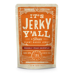 It's Jerky Y'all Vegan Jerky - Chipotle & Prickly Pear THUMBNAIL